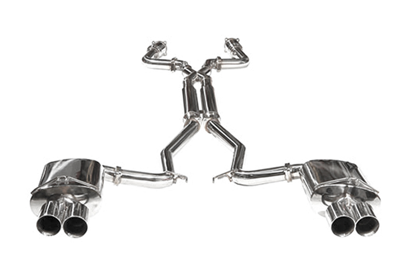 StreetFighter Header Back Exhaust (HSV)